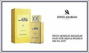 Shaghaf Oud Gold By Swiss Arabian Perfumes 75ml EDP Women's Fragrances Brand New