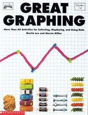 GREAT GRAPHING - SCHOLASTIC - GRADES 1-4 - 60 ACTIVITIES - 96 PAGES - BRAND NEW!
