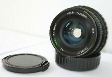 MC Cimko MT 28mm f2.8  Wide Angle Lens Pentax K,PK Mount. Fit K1000. ME etc