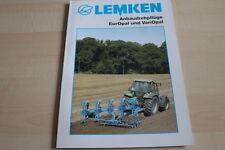 128703) Lemken Anbau-Drehpflüge EurOpal VariOpal Prospekt 03/2011