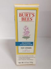 Burt's Bees Intense Hydration Eye Cream with Clary Sage 0.5 oz (Not Sealed)