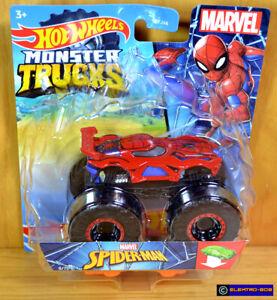 Hot Wheels Spider-Man Monster Trucks [Marvel] Jam - New/Sealed/VHTF [E-808]