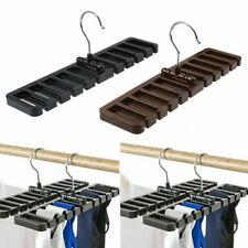 Ties Belt Socks Rack Holder Hanger Closet Wardrobe Storage Organizer Hook Tool