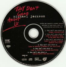MICHAEL JACKSON NO PROMO CD THEY DON'T CARE ABOUT US SOUTH AFRICA RSA