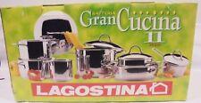 Batteria di pentole LAGOSTINA Gran Cucina 11 pz acciaio inox