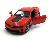 Model Car Chevrolet Camaro ZL1 Muscle Car Red Car 1:3 4-39 (Licensed)