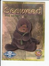 1999 Ty Beanie Babies Series 2 Retired Card Seaweed Blue #285