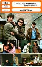 FICHE CINEMA : ROMANZO CRIMINALE - Rossi Stuart,Mouglalis,Placido 2005