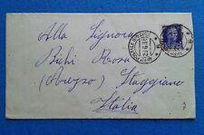 62  GUERRA Di SPAGNA UFFICIO SPECIALE 5 1938 X STAGGIANO AREZZO