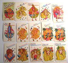 Vintage Original 1988 BARBIE Card Game Set Cromy Collection Argentina