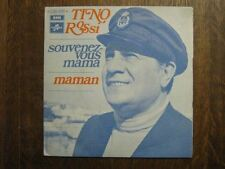 TINO ROSSI 45 TOURS FRANCE MAMAN