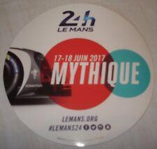 Le Mans 2017 - FIA WEC - Du Mans - Mythique - Official Event Sticker - New