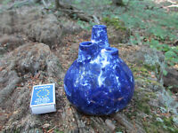 P Keramik Fat Lava Chimney / Schornstein Vase Nr. 25 - 70er WGP - in Blau !