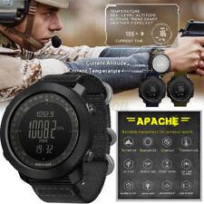 North Edge Apache 3 Smart Men Military Sport Digital Barometer Barometer Watch