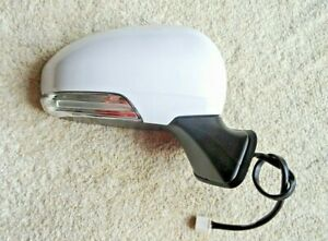 TOYOTA PRIUS FRONT DOOR WING MIRROR ELECTRIC POWERFOLD RIGHT DRIVER SIDE