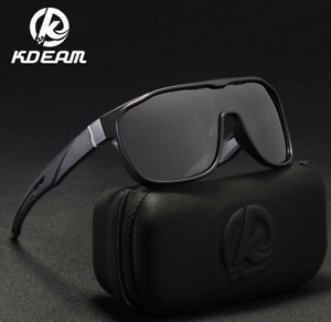 KDEAM Men Polarized Sunglasses Outdoor Riding Driving Sport Goggles Glasses New