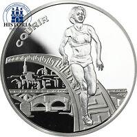 Frankreich 1,5 Euro Silbermünze 2003 PP Leichtathletik WM in Paris: Laufen