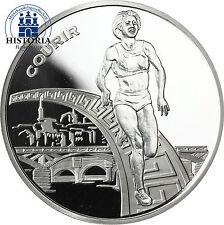 France 1,5 euro argent pièce de monnaie 2003 PP Athlétisme Coupe du monde à Paris: Courir