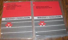 * Massey Ferguson GB500-700 Grader Blade & RR600-700 Rake Operator Parts Manuals