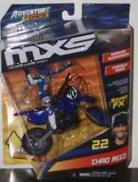 2018 Chad Reed signed ADVENTURE FORCE Motocross MXS Figure + Diecast