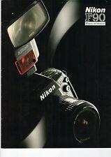 "Nikon f90 ""outil d'inspiration"" - prospectus b1718"