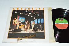 AQUARELLE Live a Montreux LP 1979 Atlantic Canada KCA-25002 VG+/VG Jazz Rock