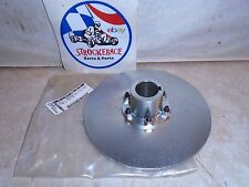 "VINTAGE RACING GO KART NOS AIRHEART 6"" BRAKE ROTOR 1"" HUB DRIFT TRIKE CART PART"