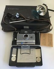 Polaroid 100 Land Camera With Case And Papers