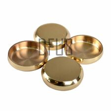 Solid Brass carpet coasters. BRASS, CHROME, NICKEL, PEWTER, ANTIQUE castor cups