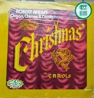 Robert Rheims Sealed LP: Merry Christmas In Carols; Organ, Chimes, MLP1219