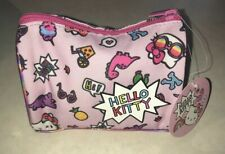 Hello Kitty Pouch Makeup Bag With Dinosaurs New