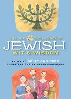The Big Little Book Of Jewish Wit & Wisdom ' Berk, Sally Ann