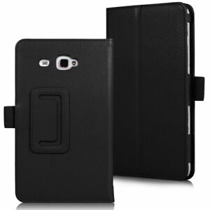 """Case For OLDER MODEL Samsung Galaxy Tab A 7"""" SM-T280 T285 Leather Smart Cover"""