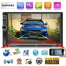 "SWM 8802 7"" HD Android 8.1 Car Stereo GPS Nav WiFi BT USB Radio Head Unit w/ Cam"