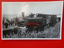 PHOTO  GWR CLASS 57XX LOCO NO 9643 AT MAESTEG 28/4/73 V2