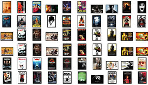 Laminated A4 Classic Vintage Action Old / New Movie / Film / Cinema Posters #2a