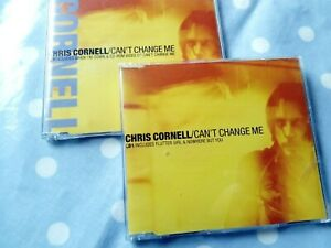 Chris Cornell Can't Change Me /Video 6 Track 2 CD Set
