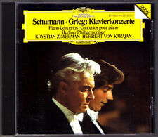 Krystian ZIMERMAN & KARAJAN: SCHUMANN & GRIEG Piano Concerto CD Klavierkonzerte