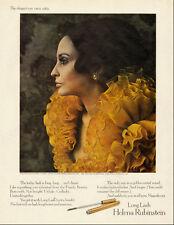 1969 vintage cosmetics Ad, Helena Rubenstein, 'Long Lash' Mascara  021014