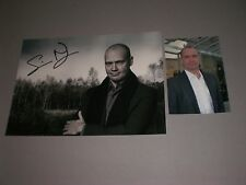 Simon Beckett  signed autograph Autogramm 8x11 inch photo in person