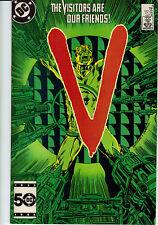 V the series #6 comic 1985        visitors     d