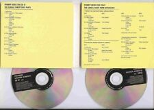 U2 MEGA RARE CD PROMO ORIGINAL SOUNDCHAT - PASSENGERS DOUBLE CD PROMO DIGIPACK