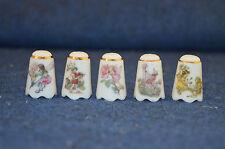 Reutter Porzellan Germany Frederick Warne Flower Fairies x5 Thimbles RD5201