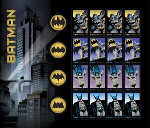2014 USA - Batman 75th Anniversary - Sheet of 20 Forever Stamps - Sold Out RARE