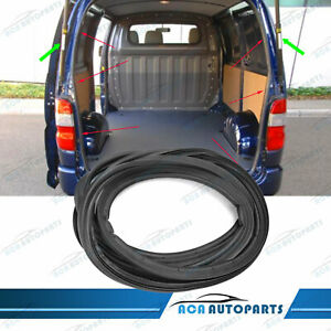 Tailgate Rubber Seal Strip Weatherstrip For Toyota Hiace Van Low Roof 2005- 2017