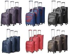 Aerolite Soft Spinner (4) Wheels Suitcases