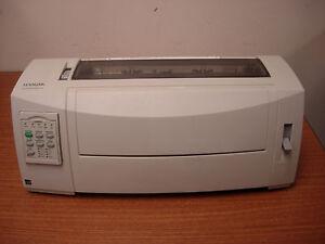 Lexmark Forms Printer 2590n Standard Dot matrix Printer 2590-110 11C2555 Refurb!