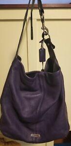 Genuine Coach purple Bucket Bag