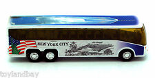NYC New York City Tour Coach Bus Freedom Tower One World Trade Center 1:64 Scale