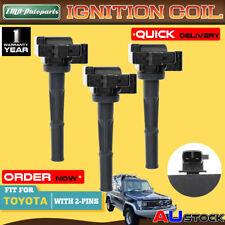 3x For Toyota Land Cruiser Prado 90 Hilux 4 Runner 5VZ-FE 3.4L Ignition Coils
